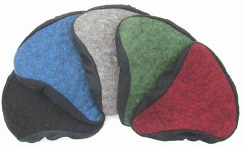 palett av exempel färger sadelskydd